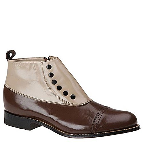 Stacy Adams Madison Cap Toe Men's Boot 13 2E US Brown (Spat Boots)