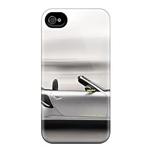 Durable Defender Cases For Iphone 4/4s Covers(porsche Turbo S 918 Spyder 2)