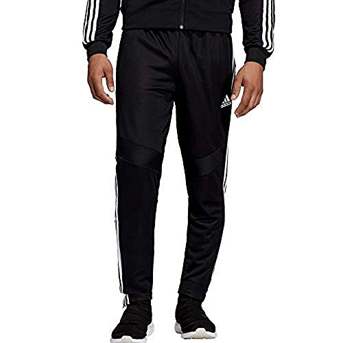 Adidas Men's Tiro19 Training Pants, Blackwhite, Medium