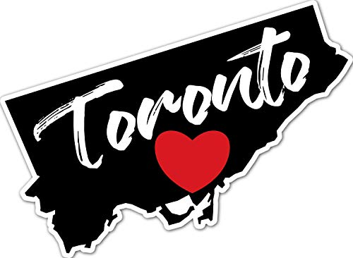 4 All Times Toronto Automotive Car Decal for Cars, Trucks, Laptops (8.0