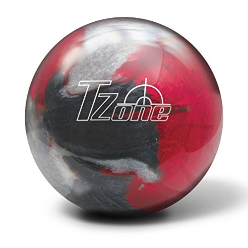 Brunswick-T-Zone-PRE-DRILLED-Bowling-Ball-Scarlet-Shadow