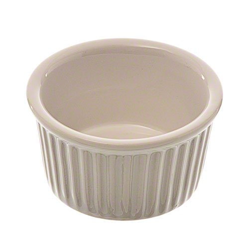 Browne Foodservice (564003W) 2-1/2-Ounce Stoneware Ramekin