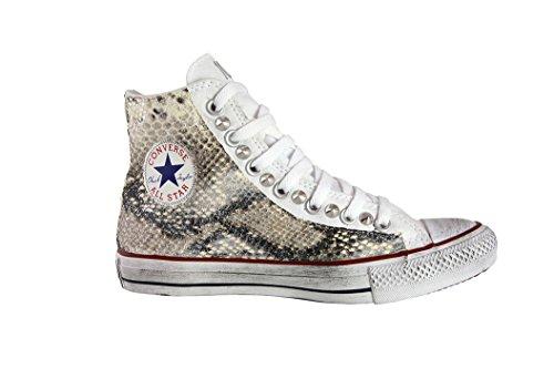 Borchie ALL CONVERS Pitone con Sneaker Sfumato Beige Cono Glitter Star berge''' Vintage YwfTBq