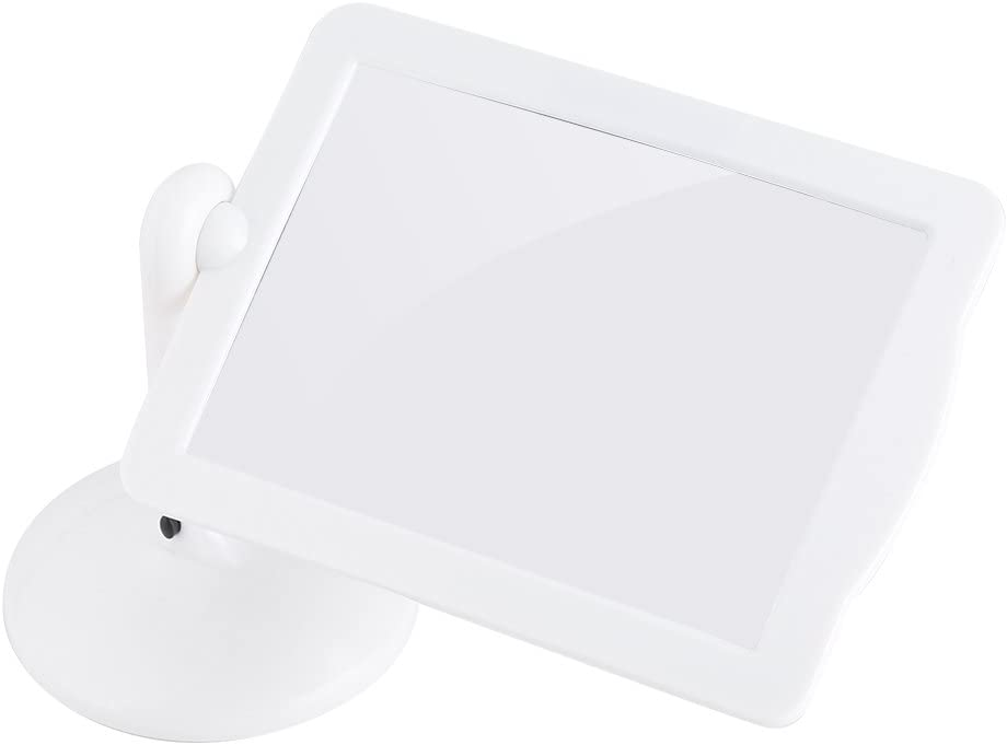 360 Rotatable Hands-Free 3X Rectangular Screen Reading Magnifying Glass with Stand Fdit Led Magnifier
