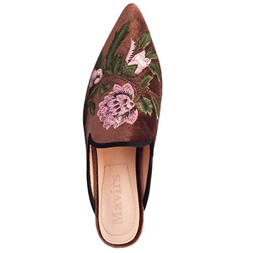 Pictures of Mavirs Loafers For Women Womens Loafers Velvet 5