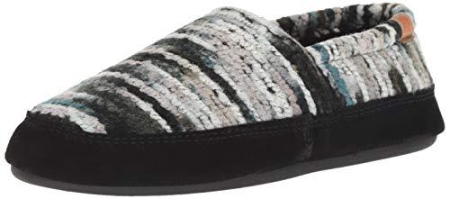 ACORN Women's Moc, Wooly Stripes, X-Large / 9.5-10.5