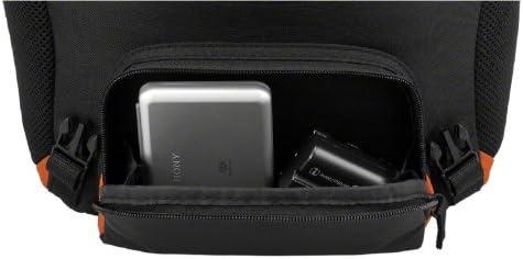 Black Sony LCSSC8 Lightweight System Case for Alpha DSLR Camera and Lenses