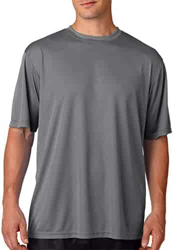 A4 Adult Solid Color Performance Crew T-Shirt
