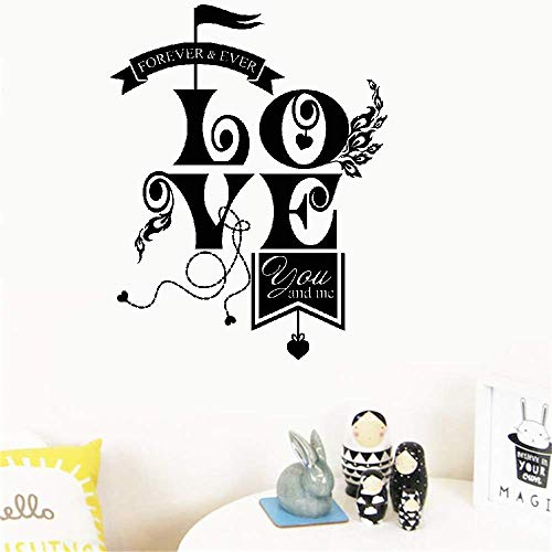 Sertys Wall Decal Sticker Art Mural Home Dcor Quote Circle for Living Room Bedroom Nursery Kids Room ()