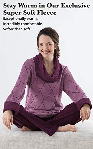 PajamaGram Super Soft Pajamas for Women - Fleece Pajamas Women