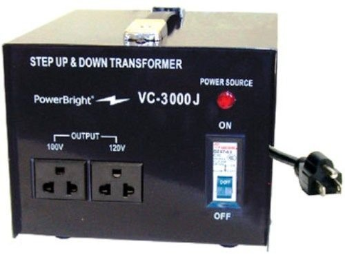 PowerBright VC-3000J Japanese Step Up/Down