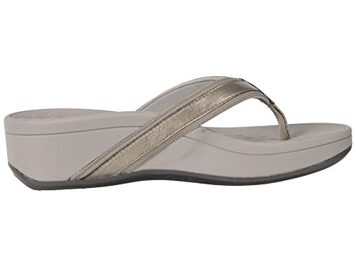 Vionic with Orthaheel High Tide Women's Sandal Pewter Grey sale pay with paypal f0yOm