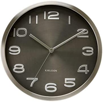 Present Time Karlsson Wall Clock Maxie