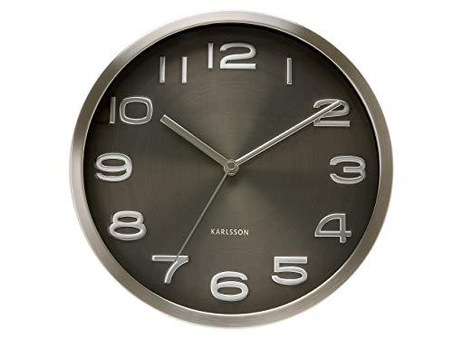 Present Time Karlsson Wall Clock Maxie, Black