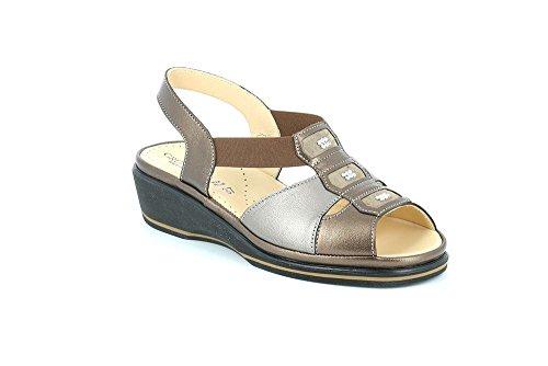 GRUNLAND SA1735 ELOI Sandalo Donna P. BRONZO