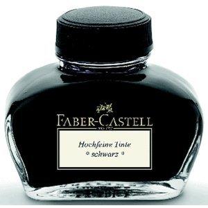 Faber Castell Tintenglas schwarz 62,5 ml für Konverter