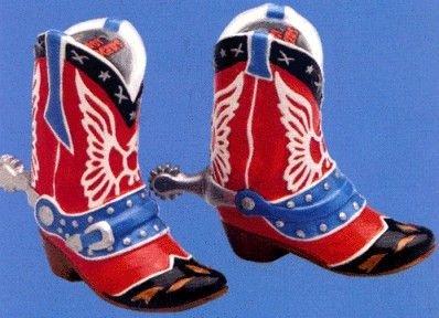 (Roy Rogers Salt N Pepper Set of Boots, 230319)