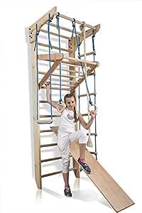 "Escalera sueca barras de pared ""Kinder-3-240"", gimnasia de"