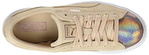 Tan Puma Suede Wn's Cream Femme Platform Lunalux Basses Beige Sneakers wwrFzBq
