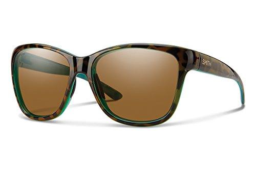 Smith Optics Women's Ramona Chroma Pop Polarized Sunglasses (Brown Lens), Tortoise - Women's Sunglasses Smith