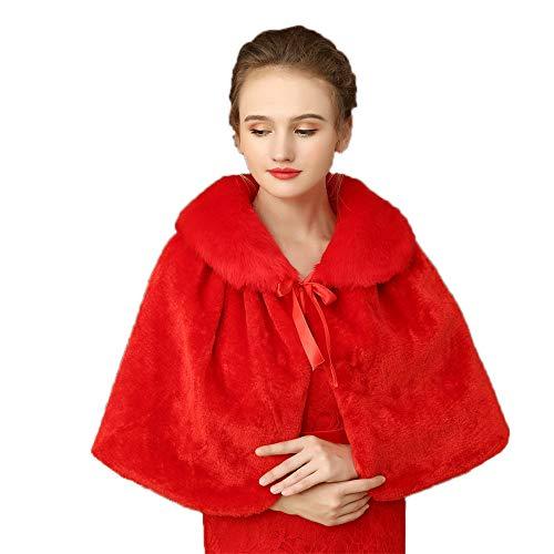 Las Fiesta Mujeres Abrigo Chaquetas Boda Del Cubren Mantón El Para Red bodas Xiaoqin White Estolas De Chales Banquete color d6pwB6tq