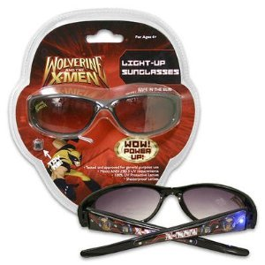 X-Men Black Light-Up Sunglasses For Kids