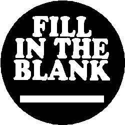 amazon com fill in the blank pinback button 1 25 pin badge