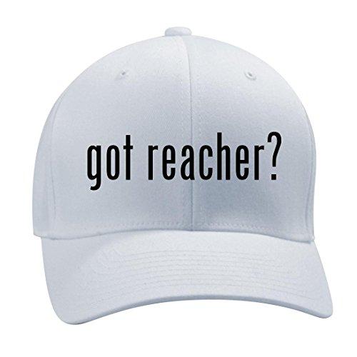 got reacher? - A Nice Men's Adult Baseball Hat Cap, White, Large/X-Large