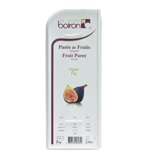Fig Boiron Fruit Puree, Bundle - 2 packs x 2.2 Lbs, Kosher Buy 2 and Save!
