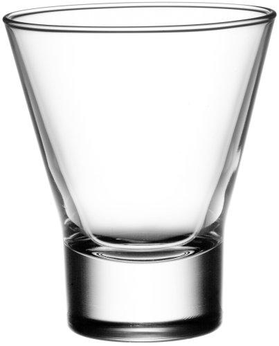 (Bormioli Rocco Ypsilon Tumbler Rocks Glasses, Set of 6)