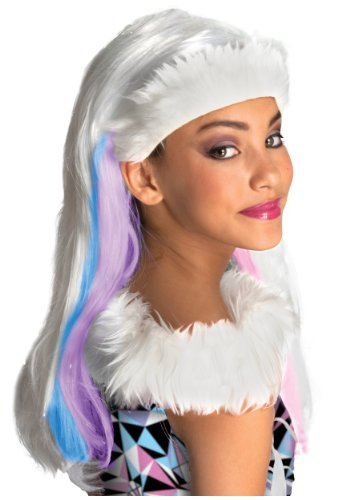 [Abbey Bominable Child Adult Wig Monster High Masquerade Party Favors Princess Art Hair Best Halloween Costume] (Three Little Pigs Halloween Costume Ideas)