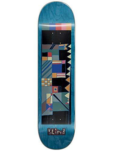 Blind Geo Map Blue 8.0 Skateboard Deck