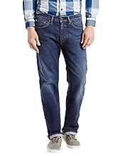 Levi's Men's 505 Regular Fit Jeans, Hawker, 35W x 32L