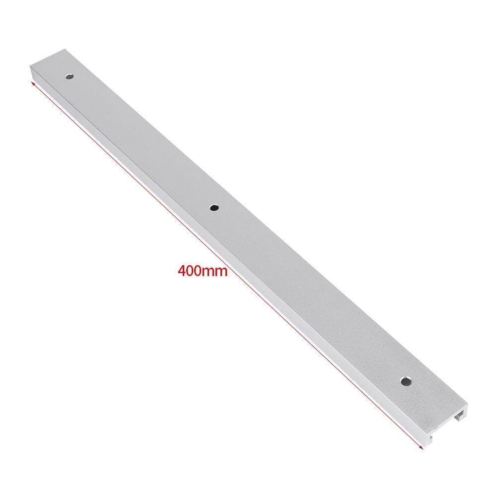 Aluminum Alloy T-Track T-Slot for Woodworking Workbench Machines 400mm