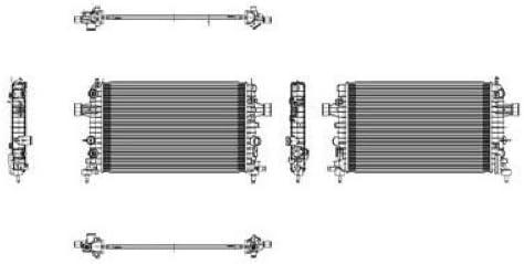 saturn transmission parts diagram amazon com go parts for 2008 2009 saturn astra radiator  2009 saturn astra radiator