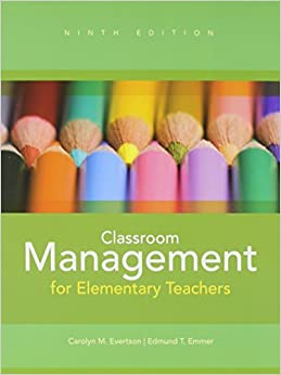 Classroom Management and NEW MyEducationLab with Pearson eText (9th Edition) by Carolyn M. Evertson (2012-08-11)