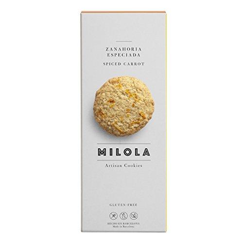 Milola - Galletas de Zanahoria Especiada - 140 gramos: Amazon.es: Alimentación y bebidas