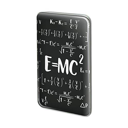 Little Mass 2 Piece (E=MC 2 Energy Mass Equation Einstein Rectangle Lapel Pin Tie Tack)