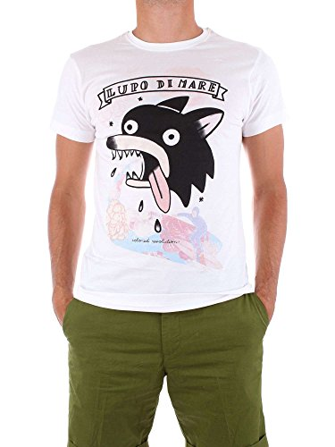 Shirt COLORED Blanc REVOLUTION Homme T M008 qvtHv6T