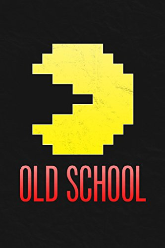 Old School Throwback Retro Arcade Game Video Gaming Poster 12x18 inch - Ms Pac Man Ps2