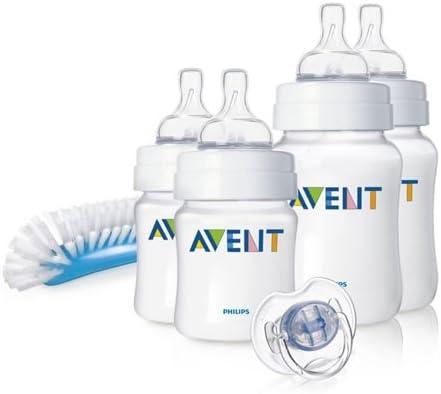 Philips Avent SCD271/00 - Juego de biberones y accesorios básicos para recién nacido: Amazon.es: Bebé