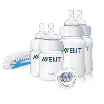 Philips Avent SCD271 00 - Juego de biberones y accesorios básicos para  recién nacido 586169b0e24