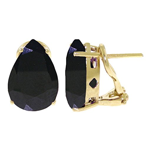 ALARRI 9.3 Carat 14K Solid Gold Inspiration Sapphire Earrings by ALARRI