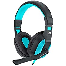 Blue Melody Best Elite USB Wired Universal Top Stereo PC Computer Mac Laptop Video Virtual Gaming Headset For CT-770 Blue