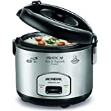 Panela Eletrica Pratic Rice & Vegetables Cooker 10 Premium, 127V, Mondial PE-01, Preto/Ino