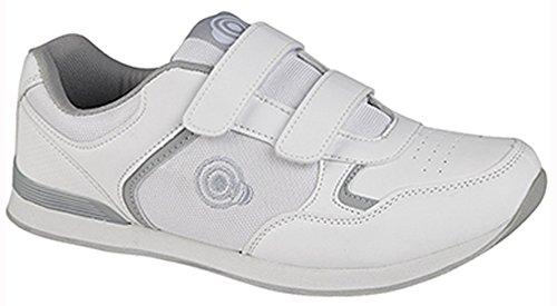 Dek Bowling DekScarpe 3 36 WhiteVelcromens Da Uomo 2 jAL54R3