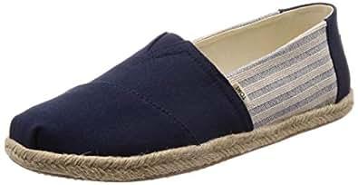 TOMS Ivy League Stripes, Men's Shoes, Blue, 11 UK (45 EU)