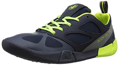 Body Glove Men's Swoop Water Shoe, Dark Blue/Neon, 10 M US