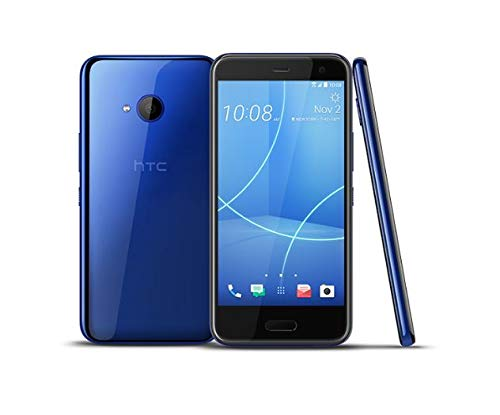 """HTC U11 Life (32GB) - 5.2"""" FHD Display, IP67 Water Resistant, with HTC Alexa 4G LTE GSM Unlocked Smartphone (Sapphire Blue) from HTC"""