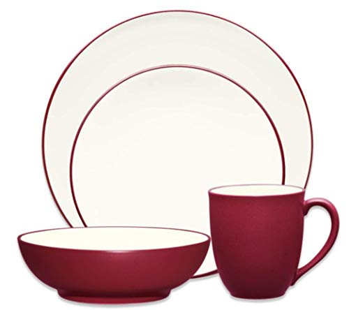 Noritake Colorwave Raspberry - 4 piece place setting